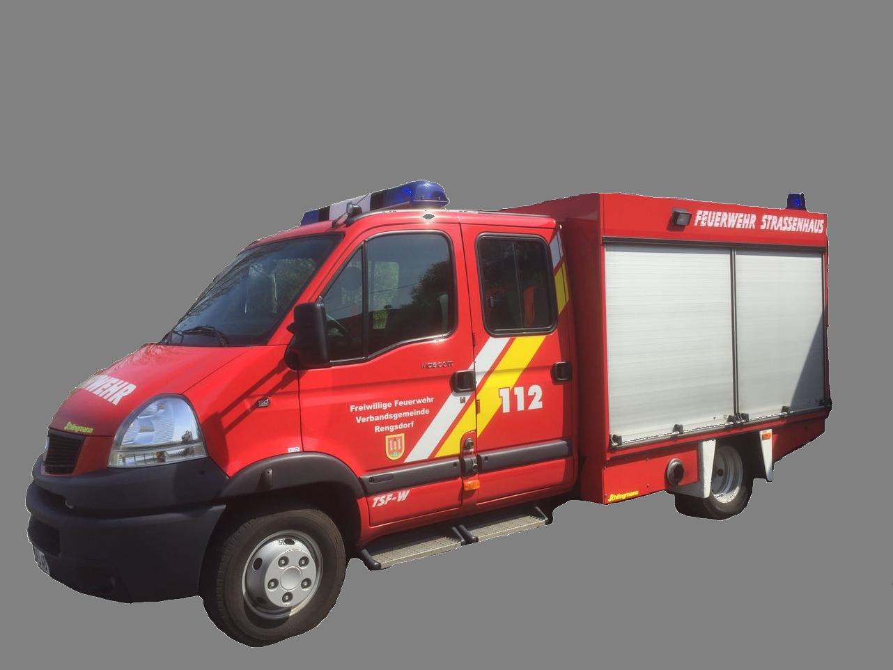 Tragkraftspritzenfahrzeug-Wasser